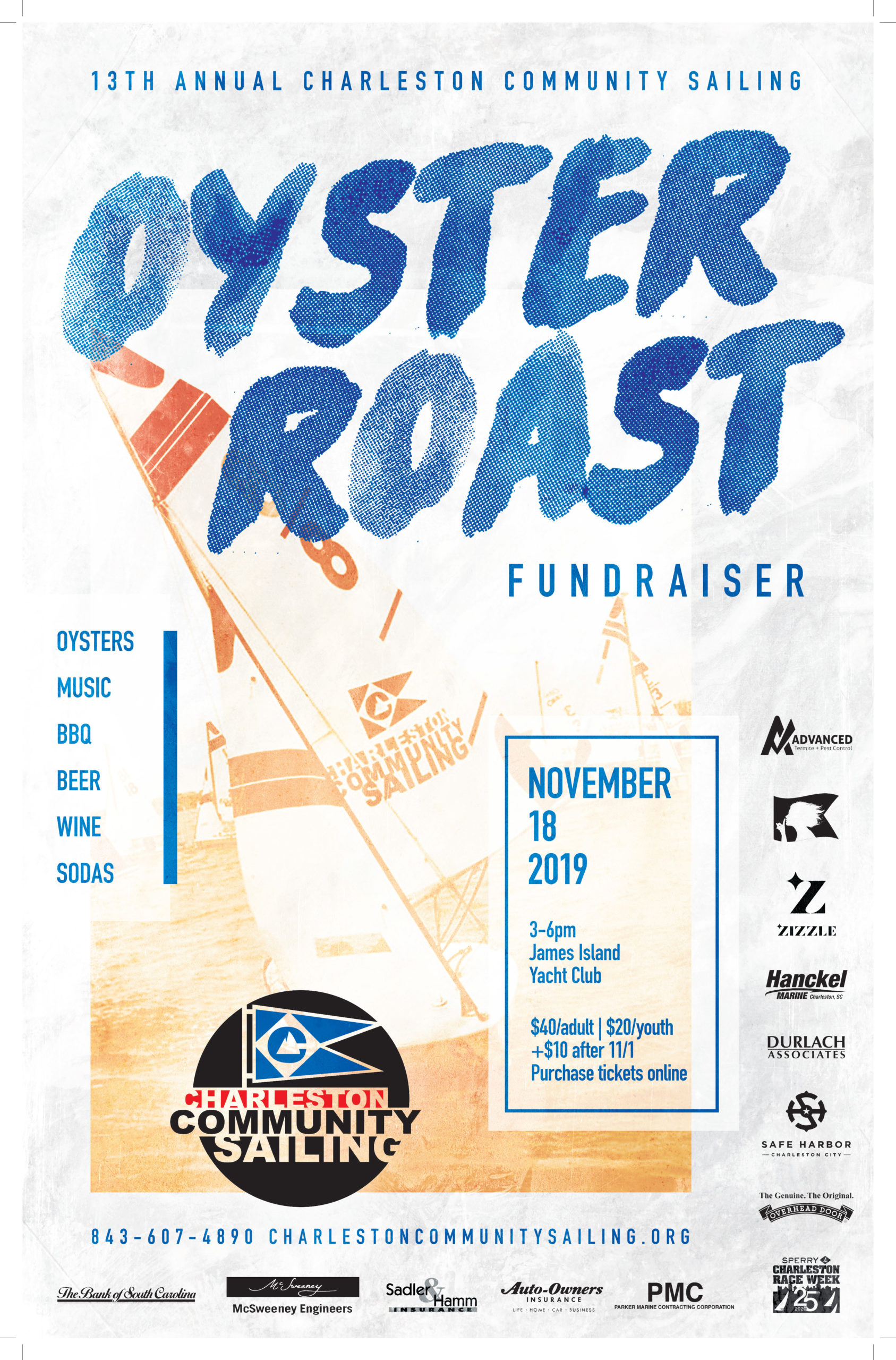 CCS Oyster Roast Poster