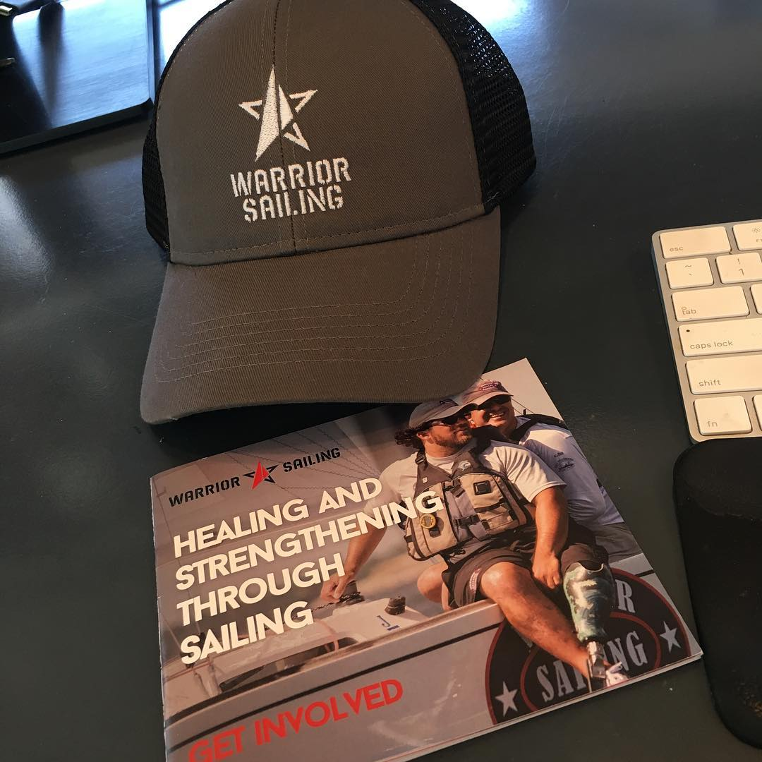 Warrior Sailing Hat and Brochure