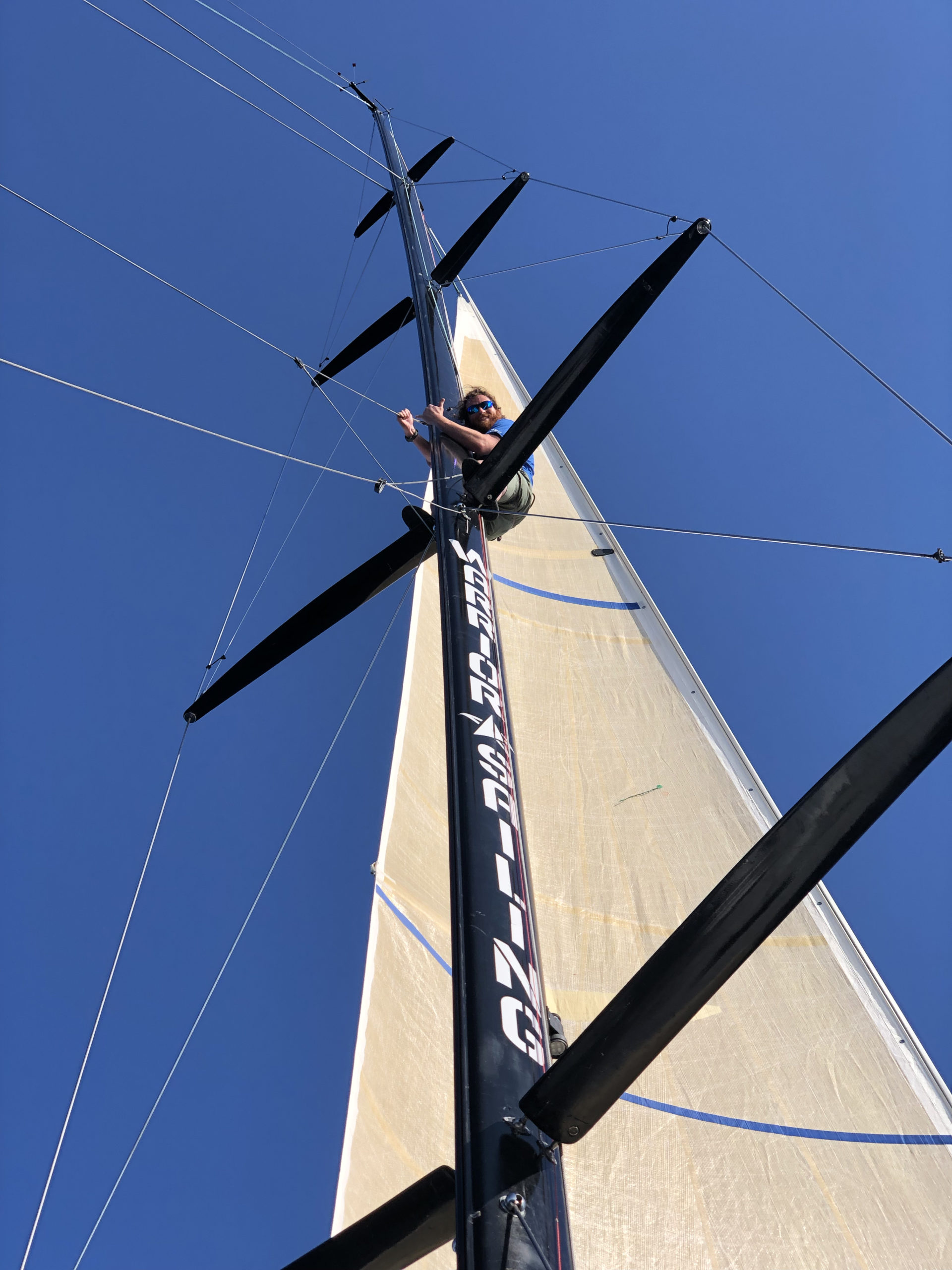 Warrior Sailing Mast
