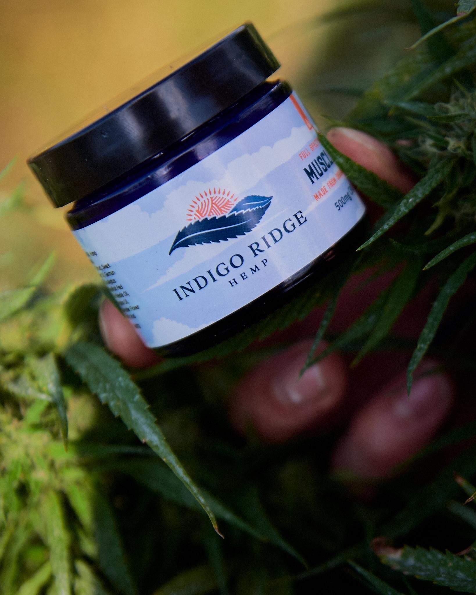Indigo Ridge Hemp Muscle Gel