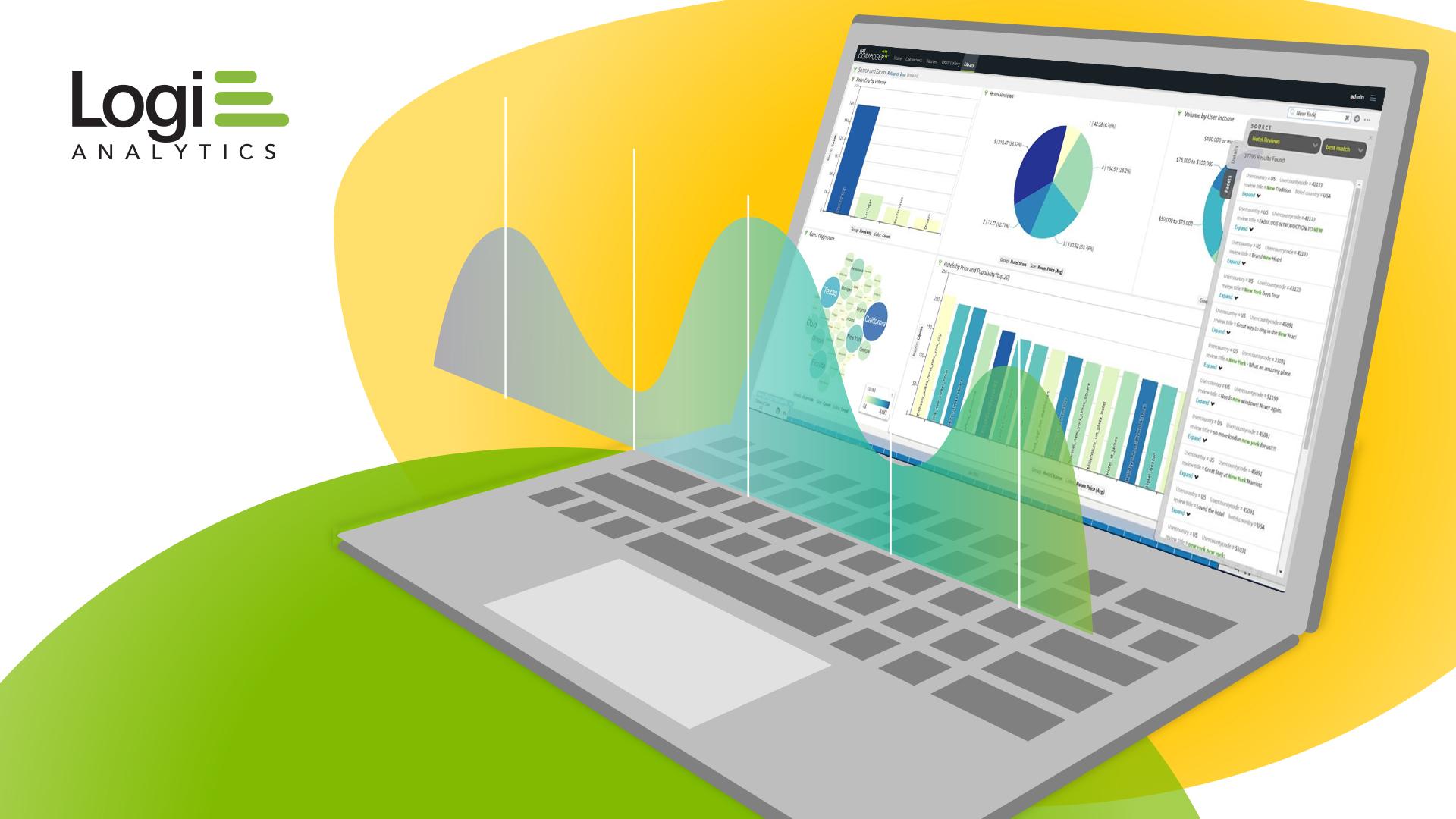 Logi Analytics Laptop Campaign