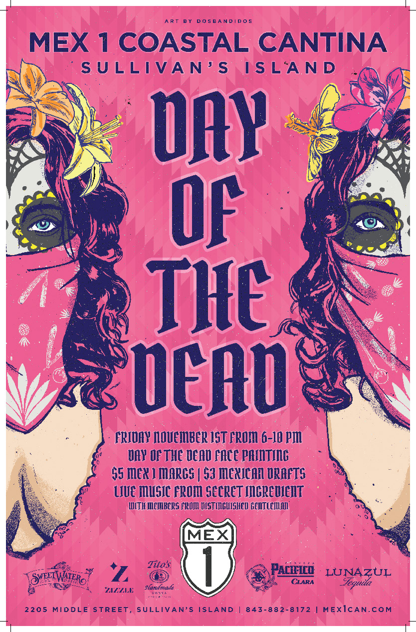 Mex 1 Day of the Dead Poster