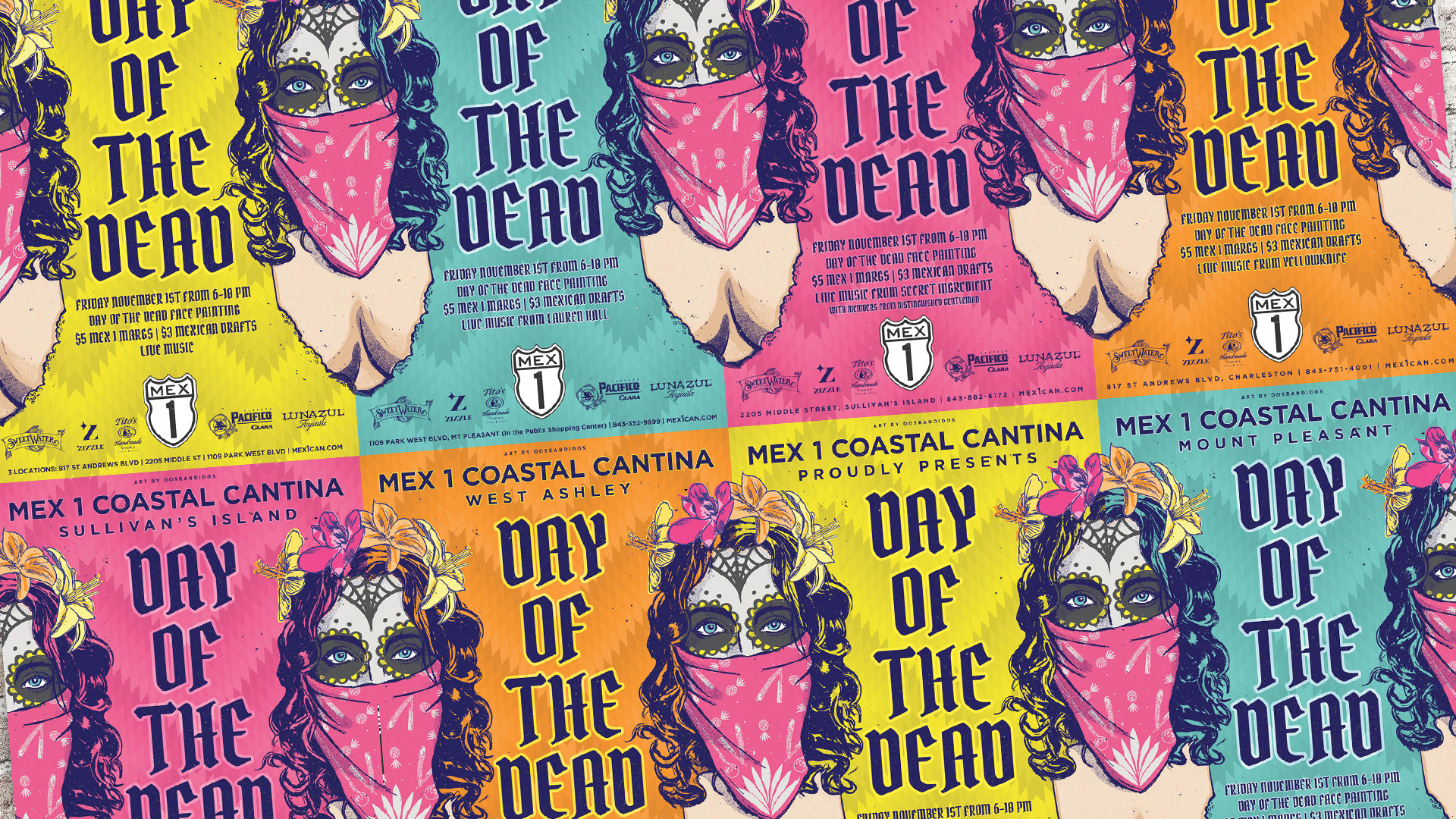 Mex 1 Day of the Dead Posters