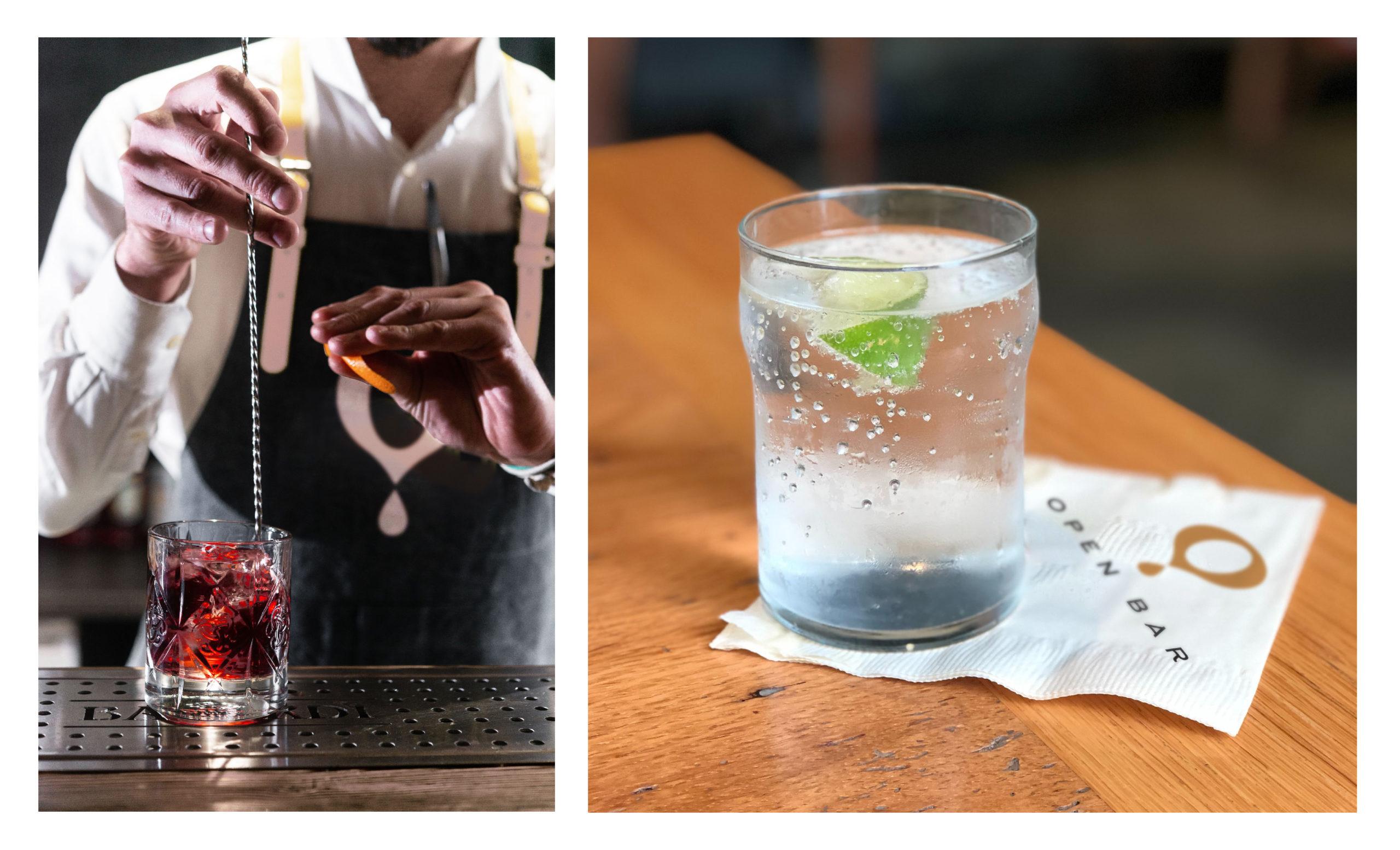Open Bar Bartender