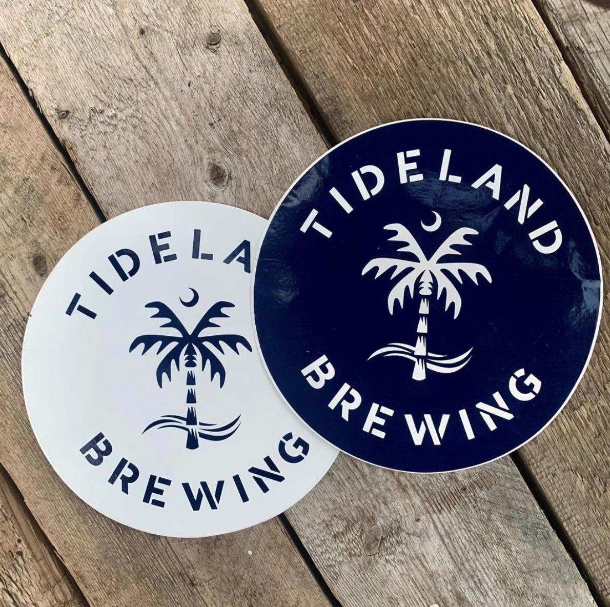 Tideland Brewing Stickers