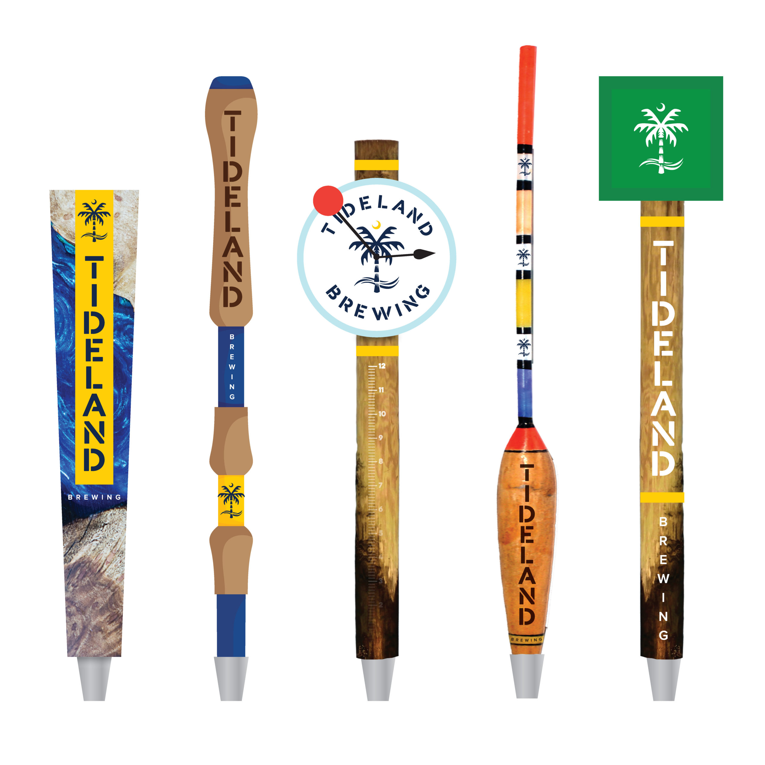 Tideland Brewing Tap Handle Concepts