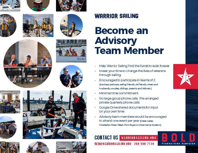 Warrior Sailing Advisory