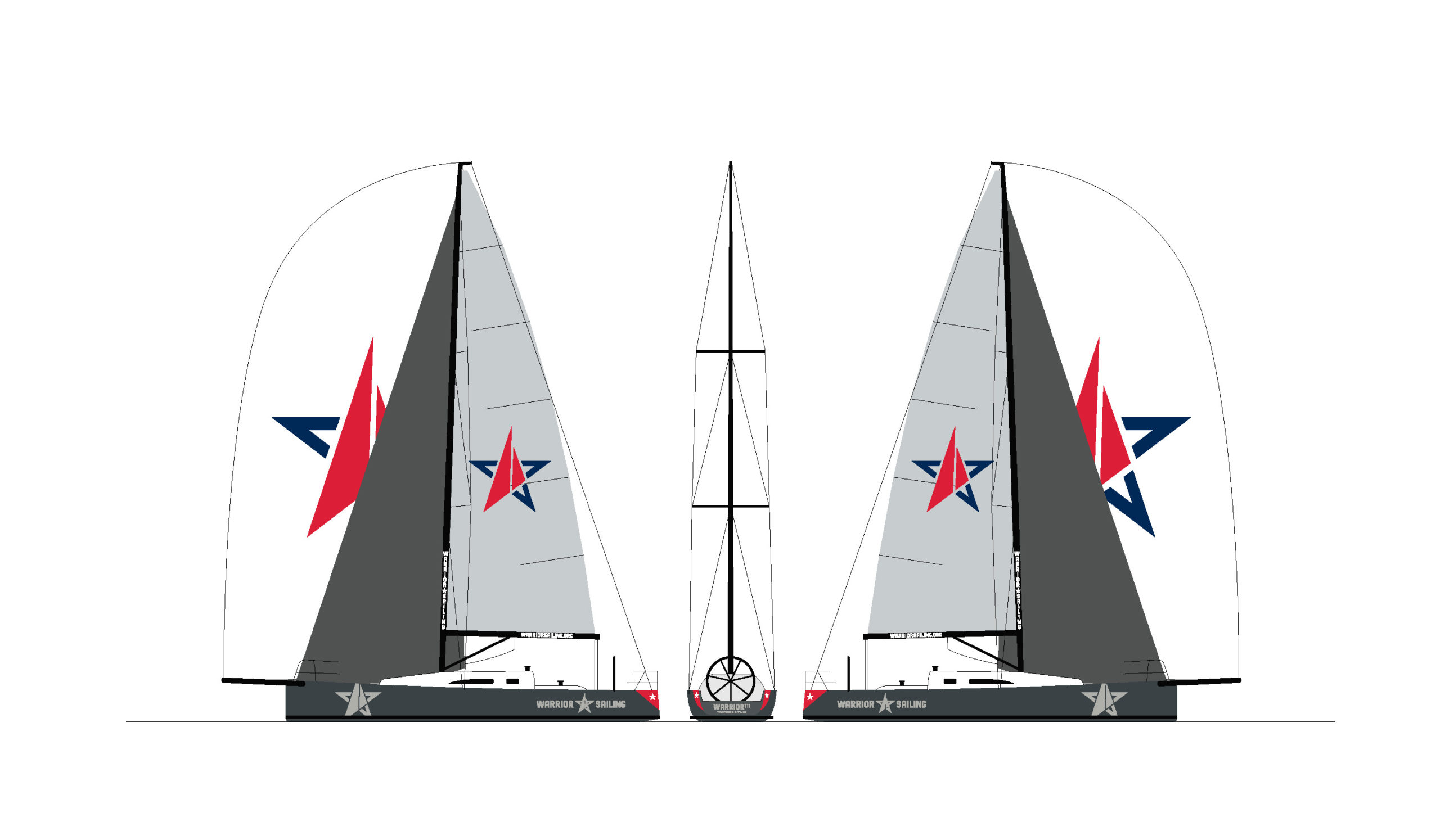 Warrior Sailing J-111 Mockup