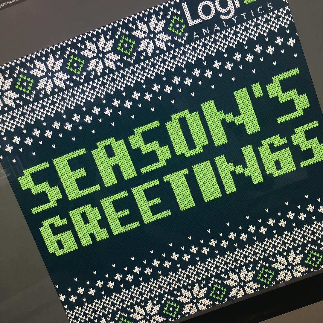 Logi Christmas Card