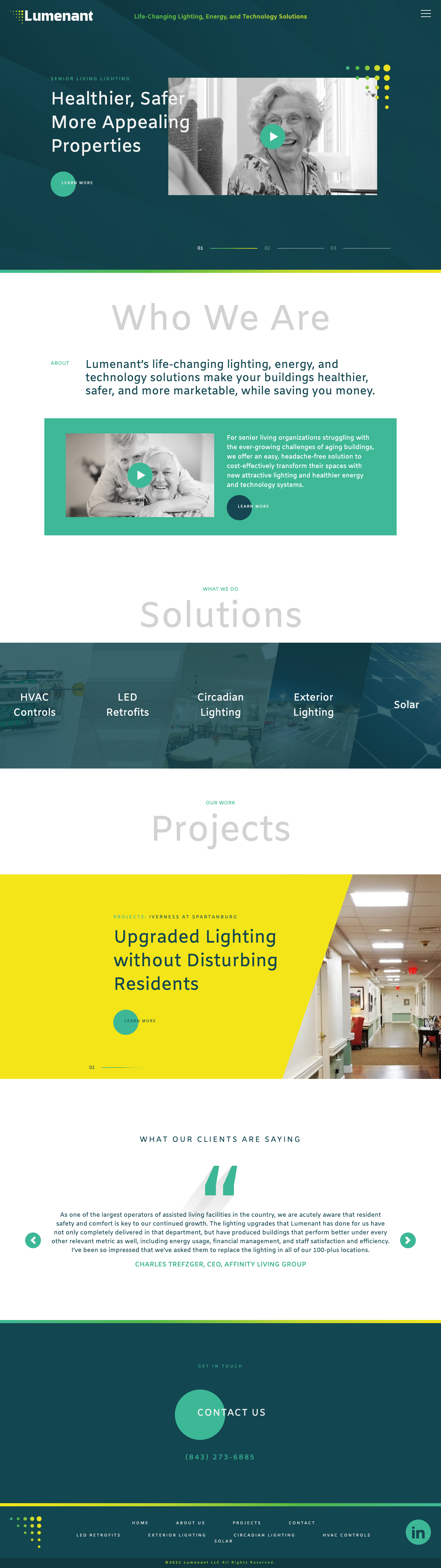 Lumenant Home Page